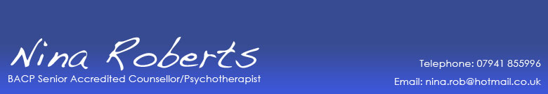 Nina Roberts Counsellor in Surbiton, Kingston, Surrey